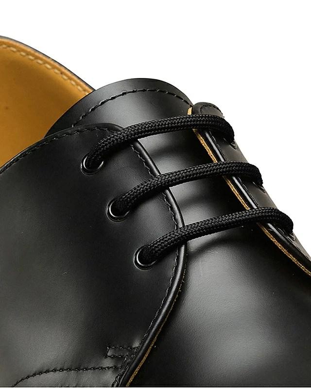 Dr.Martens ドクターマーチン 純正ラウンドシューレース ROUND 65cm BLACK AC035001 ブラック 丸紐 靴ひも ...