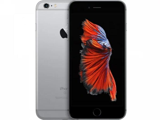【中古】【白ロム】【docomo】iPhone6S Plus 128GB スペースグレイ【ABランク】【−判定】【送料無料】