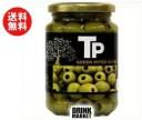【送料無料】富永貿易 TP グリーンオリーブ 340g瓶×12本入 ※北海道・沖縄・離島は別途送料が必要。
