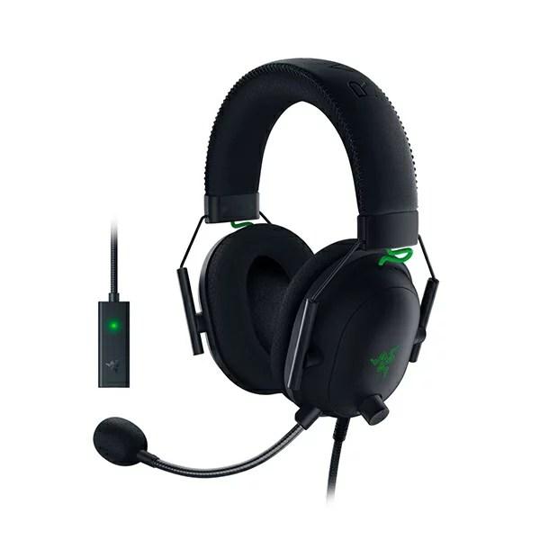 Razer レイザー ゲーミング ヘッドセット BlackShark V2 【送料無料】 ヘッドホン マイク付き
