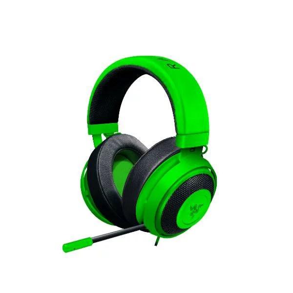 ゲーミングヘッドセット Razer レイザー Kraken Pro V2 Green Oval (RZ04-02050600-R3M1) PC PS4 Xbox One対応 【1年保証】 【送料無料】【次回11月中旬入荷予定】
