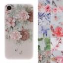 iphoneSE2 ケース 韓国 花柄 花 レトロ フラワー トレンド 大人 おしゃれ iphone7 iphone8 iph……