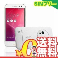 SIMフリー ASUS Zenfone Zoom ZX551ML-WH128S4 128GB Premium Leather White【国内版 SIMフリー】[中古Aランク]【当社1ヶ月間保証】 スマホ 中古 本体 送料無料【中古】 【 携帯少年 】