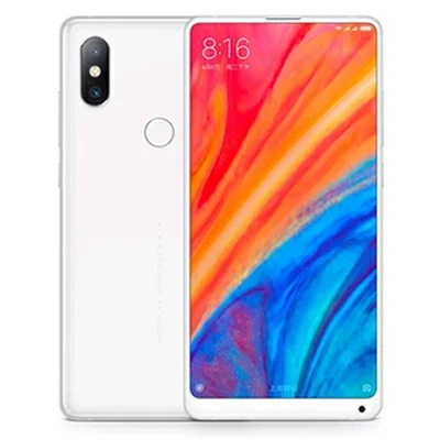 中古 Xiaomi Mi Mix2S Dual-SIM 【White 128GB グローバル版】 SIMフリー スマホ 本体 送料無料【当社3ヶ月間保証】【中古】 【 携帯少年 】