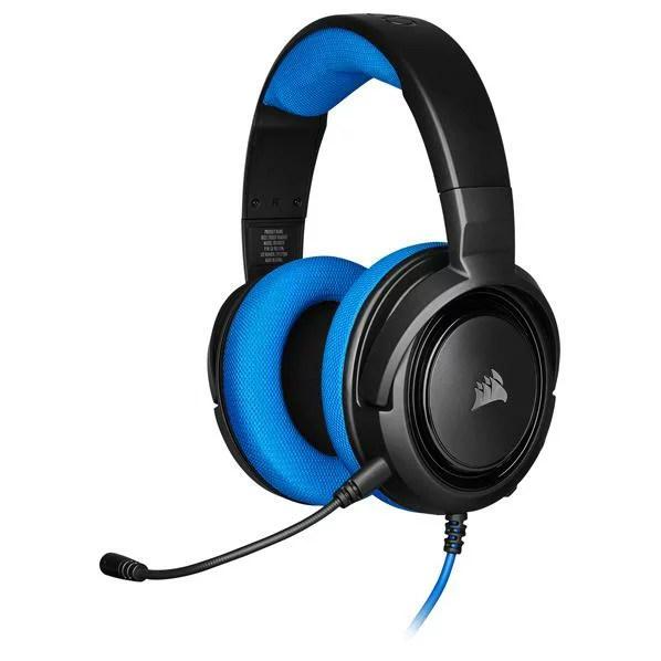コルセア ゲーミングヘッドセット HS35 STEREO Blue CA-9011196-AP [CA9011196AP]