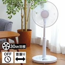 扇風機 おしゃれ リビング扇風機押しボタン 風量3段階 切タ