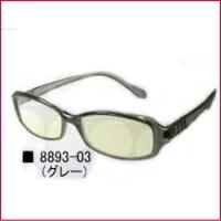 パソコングラス Relaxion<リラクション> グレー パソコン用眼鏡【P25Apr15】
