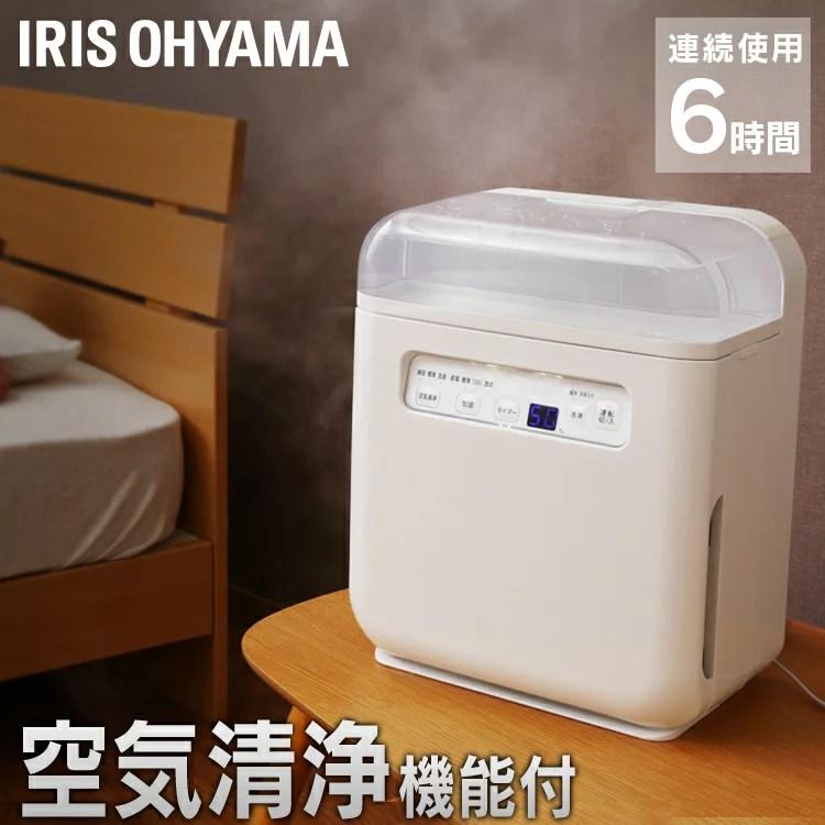 【ポイント10倍】【あす楽】空気清浄機 加湿器 ホワイト SHA-400A空気清浄機能付加湿器 加湿