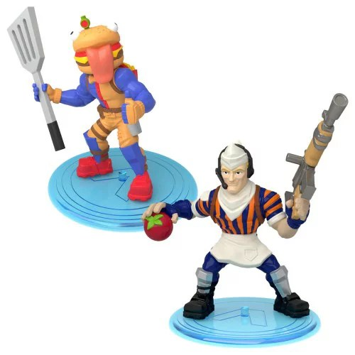 フォートナイト コレクションミニフィギュア 2体セット 011 ビーフボス&グリルサージェント おもちゃ こども 子供 男の子 8歳