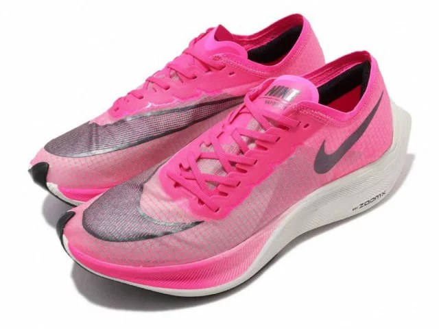 NIKE ZOOMX VAPORFLY NEXT%ナイキ ズーム ヴェイパーフライ ネクスト% 厚底 ランニング シューズピンク PINK BLAST/BLACK-GUAVA ICE #100