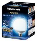 パナソニック Panasonic 【LED電球 (ボール電球タイプ)LDG6D-G/95/W 昼光色口金:E26 ボール電球60形相当】