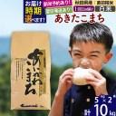 【ふるさと納税】 【白米】 秋田県産 あきたこまち 10kg