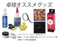 【ふるさと納税】AE05_Nittaku卓球メンテナンスセッ