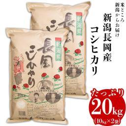 【ふるさと納税】2H-02【H30年産】新潟長岡産コシヒカリ