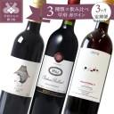 【ふるさと納税】 ワイン 定期便 全3回 3本 赤 ワイン