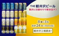 【ふるさと納税】24缶飲み比べセットTHE軽井沢ビール 【お