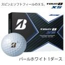 【ふるさと納税】TOUR B XS ゴルフボール パールホワイト 1ダース T18-06