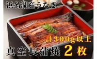 【ふるさと納税】浜名湖うなぎ真空長蒲焼2枚セット 【魚介類・