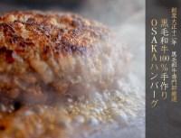 【ふるさと納税】黒毛和牛100%手作りOSAKAハンバーグ1