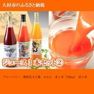 【ふるさと納税】0102.ジュース3本セット 2