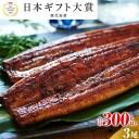 【ふるさと納税】鹿児島県産うなぎ長蒲焼3尾(約100g×3尾