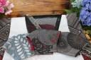 【ふるさと納税】手作り大島紬マスク(3枚)・メッシュポーチ小