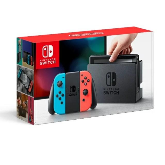 3/3発売★Nintendo Switch Joy-Con(L) ネオンブルー/(R) ネオンレッド 任天堂 4902370535716