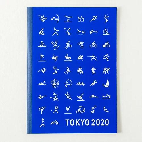 【東京2020公式ライセンス商品】【メール便対応】 A5ノート (東京2020オ