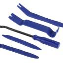 車内用 内張りはがし5点セット 傷がつかない強化樹脂製 クリップクランプツール+樹脂製リムーバー4点 G129SET5
