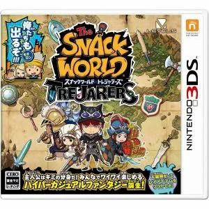 【ネコポス送料無料・即日出荷】(初回封入特典付)3DS スナックワールド トレジャラーズ 020851【ネコポス可】