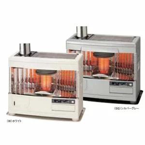 ☆*サンポット*UFH-7731UKC R [カベック] 石油暖房機 床暖内蔵 煙突式 木造20畳/コンクリート32畳【