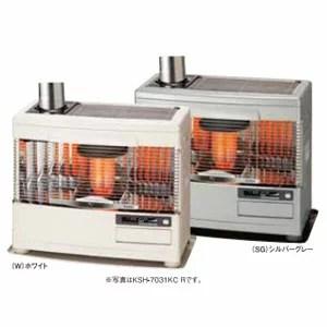 ☆*サンポット*KSH-7031KC R [カベック] 石油暖房機 煙突式 木造18畳/コンクリート