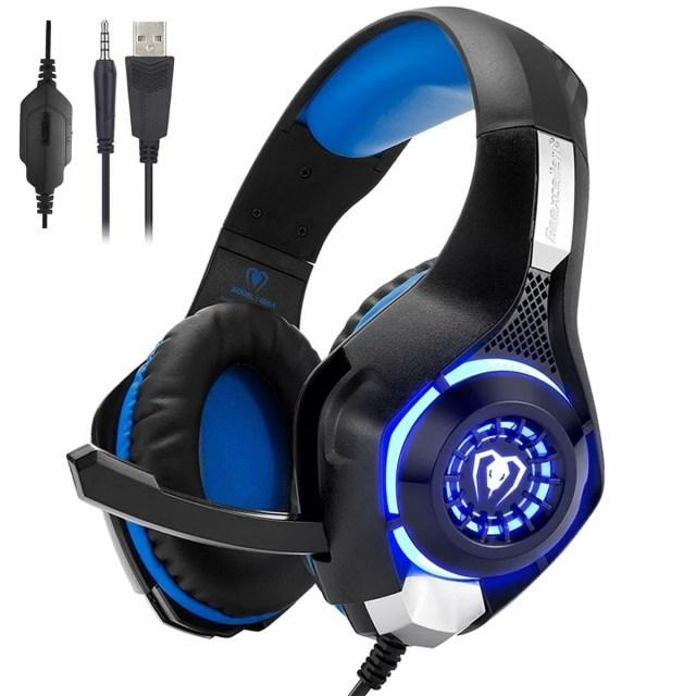 ゲーミングヘッドセット PS4 Beexcellent ヘッドセット