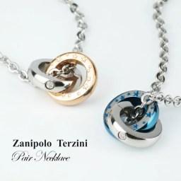 ザニポロタルツィーニ サージカルステンレス 天然ダイヤモンド