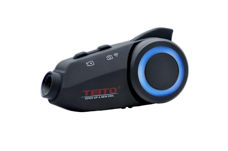 【あす楽】【TEITO】 バイク用カメラ付きインカム TM3