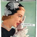 Anne Taintor Flask - Mascara