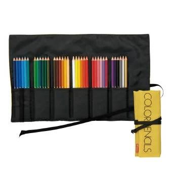 色鉛筆 トンボ鉛筆 色鉛筆ロールケース36色NQ (CR-NQ36C)