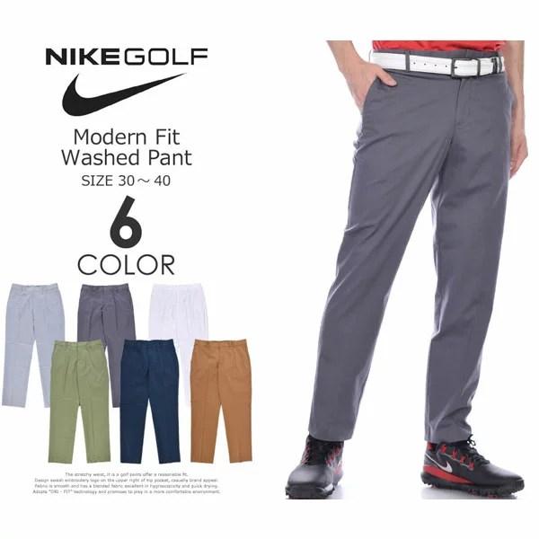 (福袋対象商品)(感謝価格)ナイキ Nike ゴルフパンツ メンズ ボトム メンズウェア モダン フィット ウォッシュド パンツ 大きいサイズ USA直輸入 あす楽対応