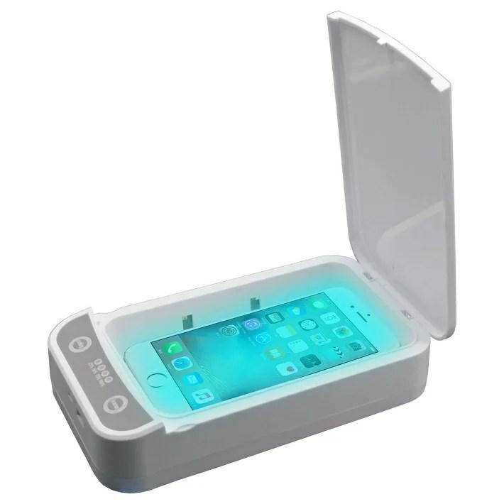 UV 紫外線 除菌 ケース スマホ マスク 腕時計 アクセサリー イヤホン