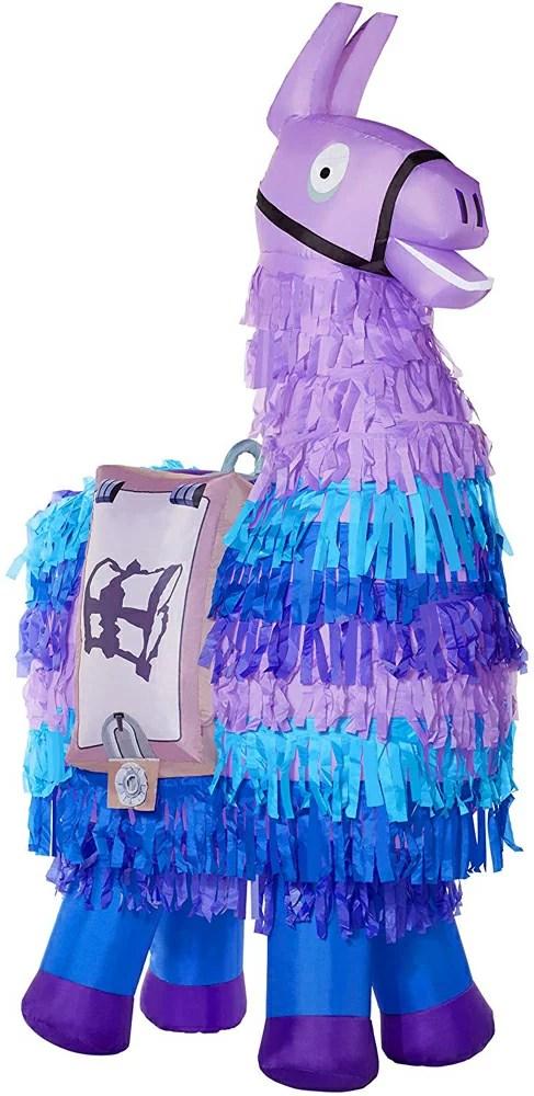 【送料無料】日本未発売 巨大風船 エアブロワー バルーン ハロウィン おもちゃ フォートナイト ラマ Fortnite Loot Llama Inflatable Decoration – 8 Ft | Officially Licensed   海外直輸入