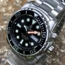 DEEP BLUE (ディープブルー) PSD1KBLACK Pro Sea Diver 1000m防水 ダイバーズ 日本製 Seiko NH36 自動巻きムーブメント搭載 ブラック..