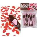 [クラッカー パーティー] ラブボムクラッカー(5個入) [LOVE BOMBクラッカー ハート型紙吹雪 パーティークラッカー イベント 二次会 ..