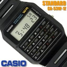カシオ CASIO メンズ 腕時計 データバンク カリキュレ
