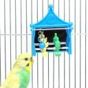 シューティングゲーム/おもちゃ 遊び 鏡 固定 ストレス解消 小鳥 インコ スドー SUDO Piccolino