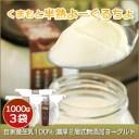 (277)熊本から直送!くまもと半熟よーぐるちょ(1000g×3個)