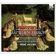 【送料無料】 Bach, Johann Sebastian バッハ / マタイ受難曲 ヤーコプス&ベ
