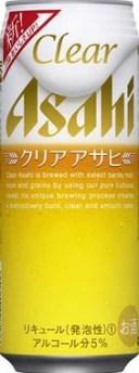 アサヒ クリアアサヒ 500ml×24缶(1ケース) 【送料無料対象外商品】