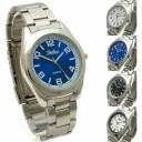 【送料無料】腕時計 ウォッチステンレススティールブレスレットポストクォーツreflex gents quartz watch with stainless steel brace..