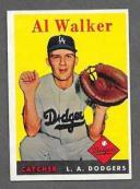 【送料無料】スポーツ メモリアル カード #アルウォーカー1958 topps baseball 203 al walker exmt *b3533