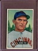 【送料無料】スポーツ メモリアル カード 1951180ハウイーフォックスvgd1313341951 bowman 180 howie fox vg d131334